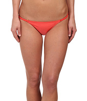 Vix - Solid Coral Red String Full Bottoms