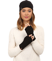 UGG - Classic Sequin Trimmed Beanie and Tech Fingerless Set