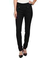 Jag Jeans - Nora Pull-On Skinny Knit Denim in Black Rinse