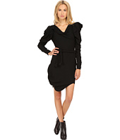 Vivienne Westwood - Moss Crepe Long Sleeve Animal Dress