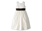 Sleeveless Satin Dress (Little Kids)