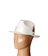 Stacy Adams - Toyo Fedora with Snap Brim and 3 Pleat Silk Band