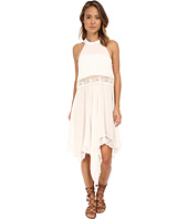Free People - Go Lightly Gauze & Lace Lots of Layers Slip
