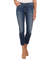 7 For All Mankind - Kimmie Crop in Slim Illusion Atmosphere Medium Blue