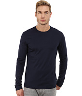 Michael Kors - Long Sleeve Micro Stripe Crew
