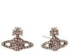 Grace Bas Relief Stud Earrings