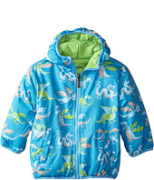 Hatley Kids - Dragons Reversible Winter Puffer (Toddler/Little Kids/Big Kids)