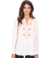 NYDJ - Embroidered Woven Blouse