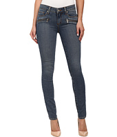 Paige - Indio Zip Ultra Skinny in Brett No Whiskers
