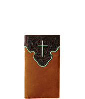 M&F Western - Contrast Cross Underlay Rodeo Wallet