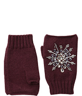 San Diego Hat Company - KNG3397 Fingerless Gloves with Handstitched Faux Gems