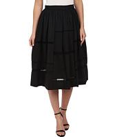 Nicole Miller - Poplin Trim Full Skirt