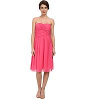 Donna Morgan - Anne Short Strapless Chiffon Dress
