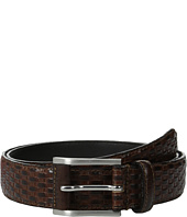 Stacy Adams - Embossed Basker Weave 32mm - Full Grain Leather Top