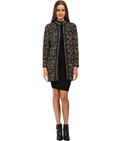 M Missoni - Knit Tweed Topper Coat