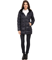 Calvin Klein - Packable Down Walker Coat with Velvet Collar