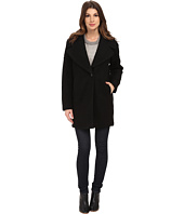 Calvin Klein - Wool One Button Boyfriend Coat