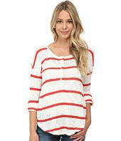 Splendid - Salina Stripe Loose Knit Henley