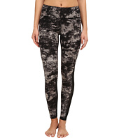 Zobha - Cosmo Printed Leggings with Mesh Panels