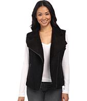 Velvet by Graham & Spencer - Anila03 Sherpa Moto Vest