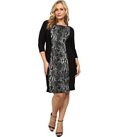 Karen Kane Plus - Plus Size Knit Panel Dress