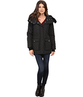 DKNY - Quilted Anorak w/ Faux Fur Split 53989-Y5