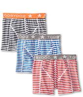 Toobydoo - Star of Stripes 3-Pack Underwear Set (Infant/Toddler/Little Kids/Big Kids)