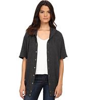 Michael Stars - Madison Brushed Jersey Hooded Coat