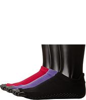 toesox - Grip Low Rise Half Toe 3-Pack
