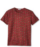 Dolce & Gabbana Kids - Crown Print Short Sleeve T-Shirt (Big Kids)
