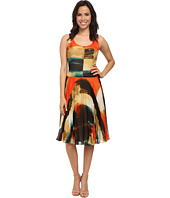 Donna Morgan - Sleeveless Dress w/ Pleated Mid-Length Skirt