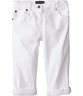 Dolce & Gabbana Kids - Mediteranean Five-Pocket Jeans in White/Denim (Infant)