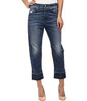 7 For All Mankind - The 1984 Boyfriend with Released Hem in Rigid Lake Blue