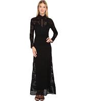 M Missoni - Solid Rib Stitch Long Dress