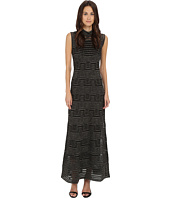 M Missoni - Solid Lurex Sleeveless Maxi Dress