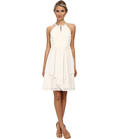 Donna Morgan - Sophie Short Beaded Neck Chiffon