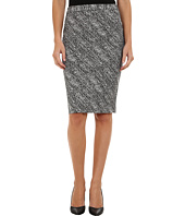 Calvin Klein - Notch Bottom Jacquard Skirt