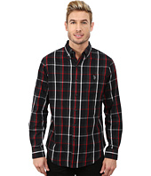 U.S. POLO ASSN. - Button Down Plaid Twill Shirt