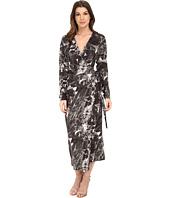 KAMALIKULTURE by Norma Kamali - Dolman Front Back Wrap Dress