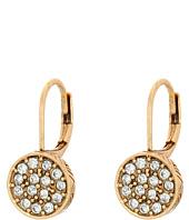 The Sak - Pave Circle Drop Earrings