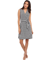 Vince Camuto - Swinging Dots Belted Wrap Dress