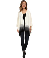 Three Dots - Hooded Poncho
