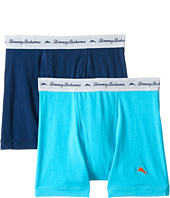 Tommy Bahama - Solid Stretch Cotton Comfort Boxer Briefs 2-Pack