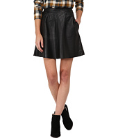 Lucky Brand - Leather Flirty Skirt