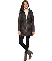 Via Spiga - Hooded Diamond Quilt Coat