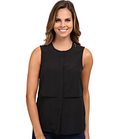 MICHAEL Michael Kors - Sleeveless Button Down Top