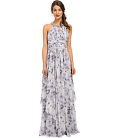 Donna Morgan - Beaded Neck Gown Printed