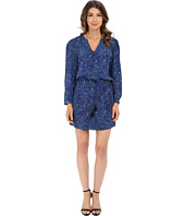 Rebecca Taylor - Long Sleeve Block Print Paisley Dress