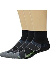 Feetures - Elite Light Cushion Quarter 3-Pair Pack