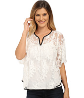 Karen Kane - Split-Placket Lace Top